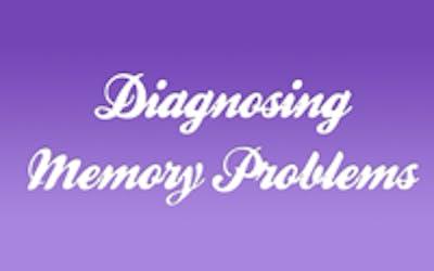 Diagnosing memory problems