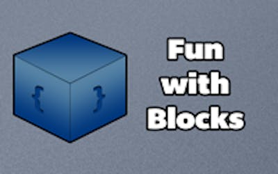 Fun with blocks poster