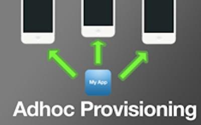 Adhoc provisioning poster
