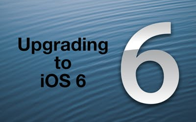 034 upgrading to ios6 poster@2x