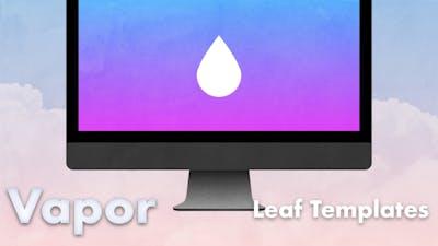 351 vapor leaf templates