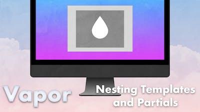 352 vapor leaf nesting templates and partials