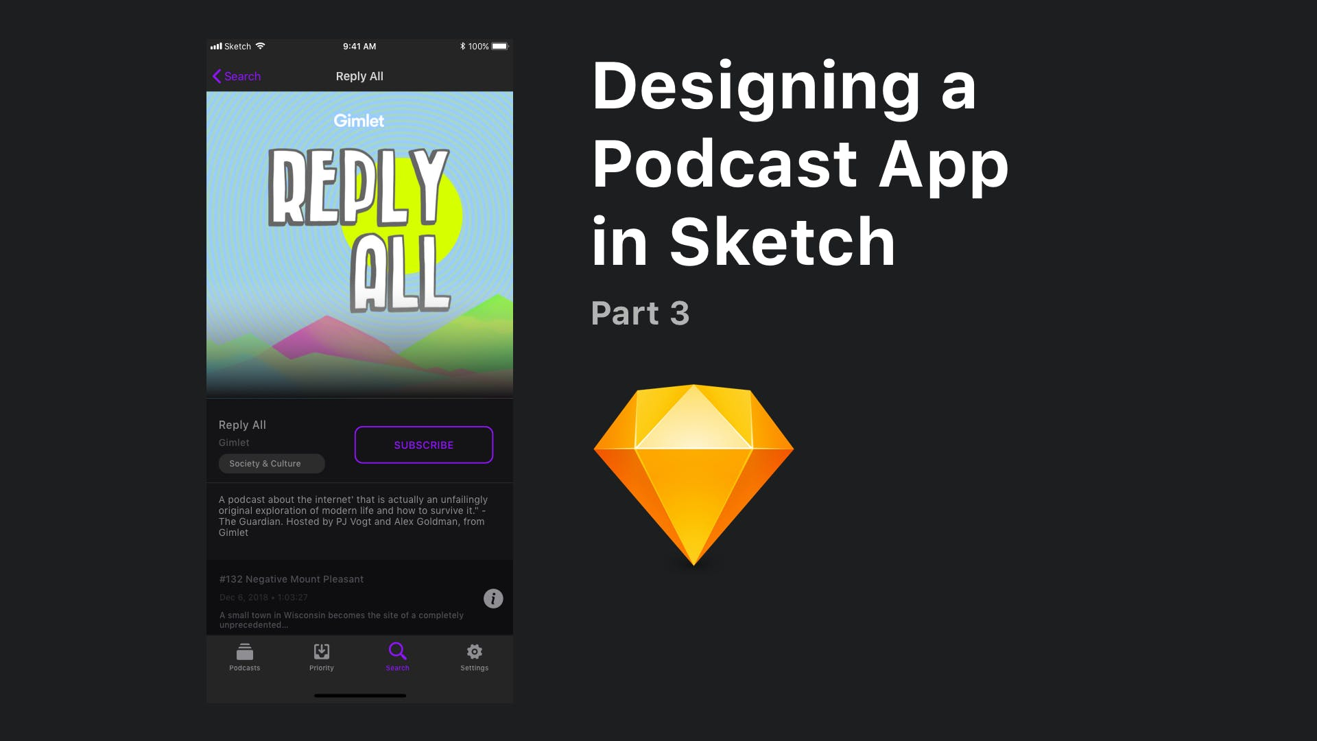 Designing the Podcast Detail Screen - NSScreencast
