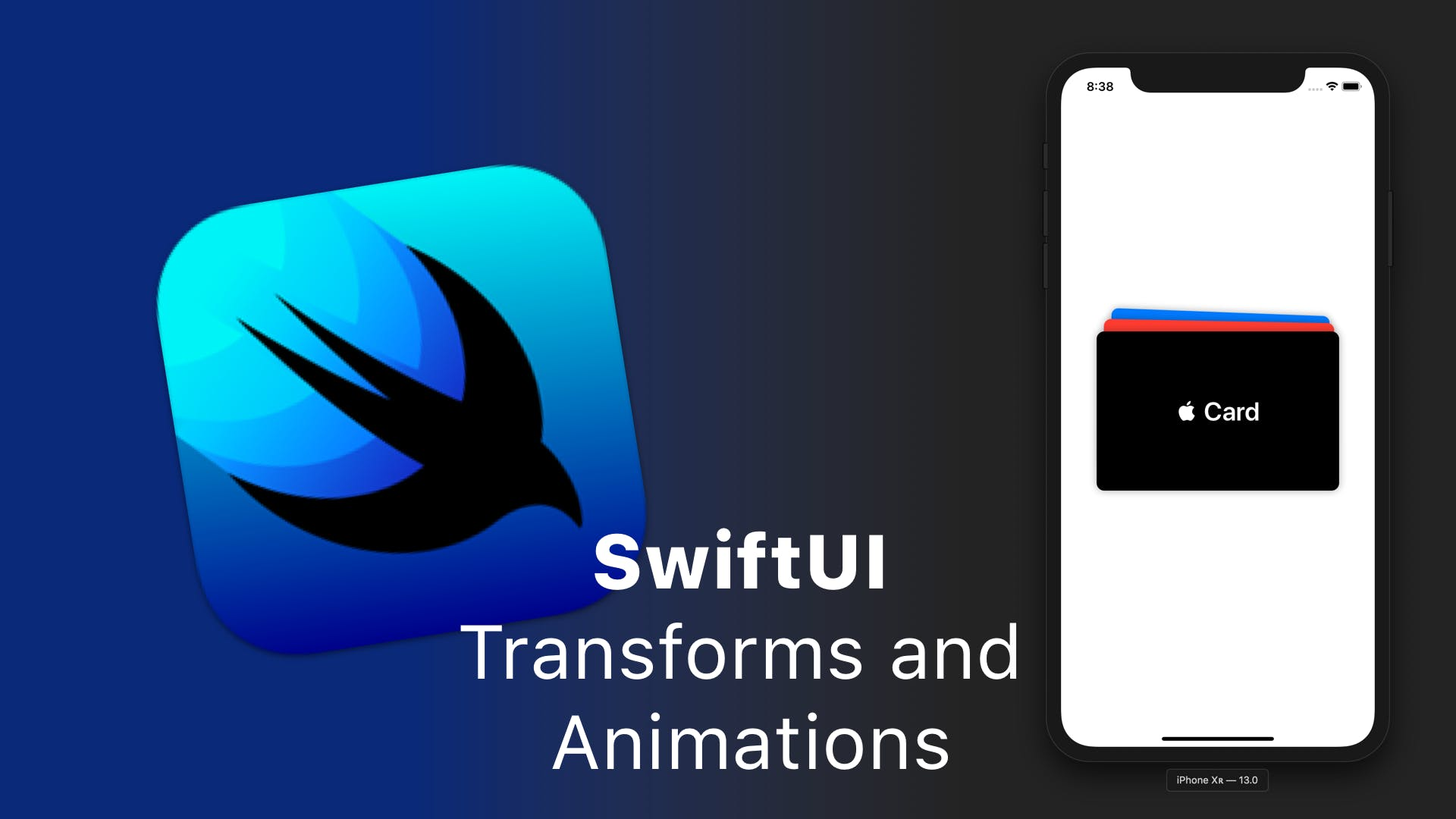SwiftUI Transforms and Animations